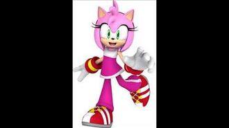 Sonic Free Riders - Amy Rose Unused Voice Sound