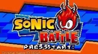 Sonic battle us intro