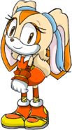 Cream the rabbit boom by artisticfox321-d777zyj