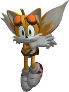 Sonic Boom 3D Model Tails