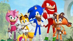 Sonic Dash 2 Sonic Boom Wallpapers