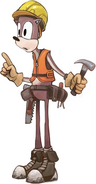Sonic Boom Foreman Fred