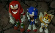 SBFAI Knuckles Sonic and Tails