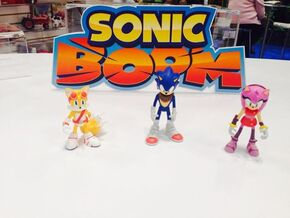 Sonic Boom Figures