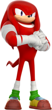 Knuckles Sonic Boom 2