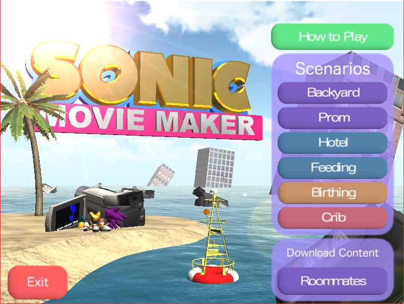 sonic movie maker sonic dreams collection wikia fandom powered