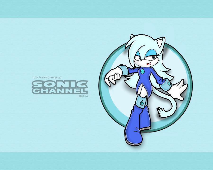 Image Crystal Sonic Channel Wallpaper Png Sonic Fan Character