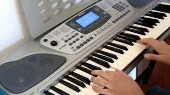 Dj satomi castle in the sky on keyboard best!