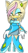 Aliza the Hedgehog Without Background