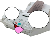 TOILS THE FAX MACHINE