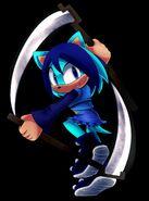 Hitomi the Hedgehog By SigmaAlphaThree