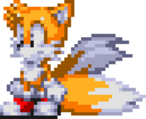 Miles Tails Prower sprite