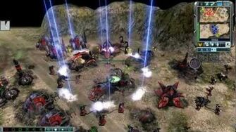 Command And Conquer 3 Tiberium Wars; Ion cannon (HD)