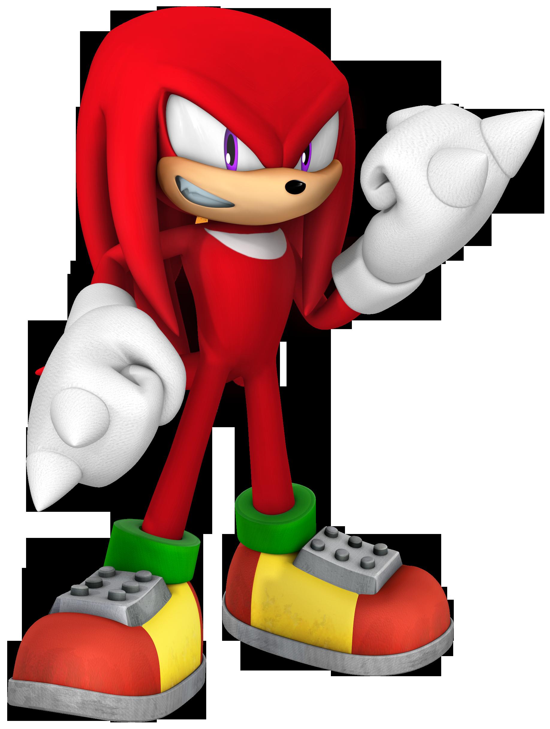 Knuckles The Echidna Sonic Gx Wiki Fandom