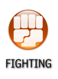 Fighting Type Symbol by falke2009