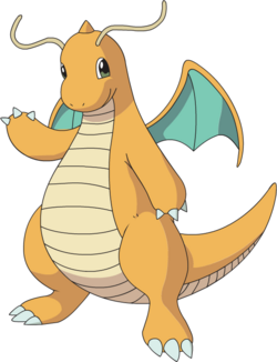 Dragonite AG anime