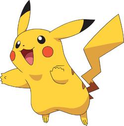 Pikachu AG anime