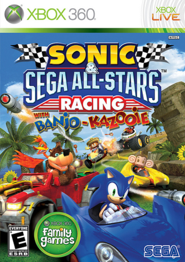 sonic and sega all stars racing wii