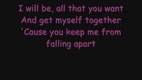 Avril Lavigne - I will be lyrics