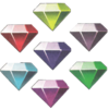 Chaos Emeralds Archie Comics Transparent