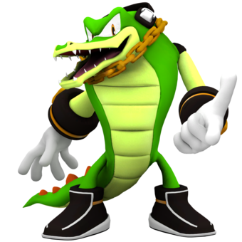 Vector The Crocodile Sonic World Wiki Fandom