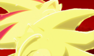 Super Shadow Defeats Super Sonic