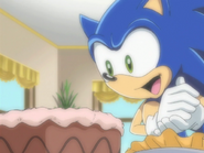 Ep29 Sonic seeing Amy's food