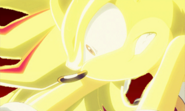 Super Sonic Losing to Super Shadow