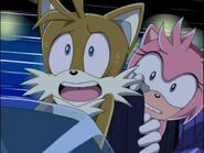 Tails and amy about to crash sonic X episode 1 (1)