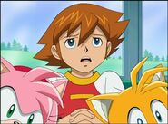 SONIC X Ep5 - Cracking Knuckles 462963