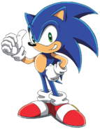 Sonic X – Signature Pose