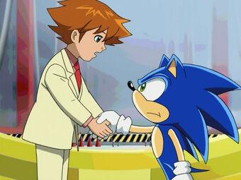 Christopher Thorndyke Sonic X Wikia Fandom