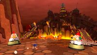 Lava Mountain Zone - Sonic Lost World