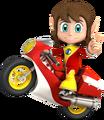 SASASR Character Alex Bike