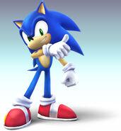 Sonic the Hedgehog - Super Smash Bros Brawl