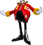 Doctor Eggman - Sonic Forces Artwork