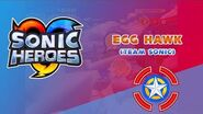 Egg Hawk (Team Sonic) - Sonic Heroes