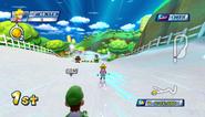 Mario Sonic Olympic Winter Games Gameplay 164