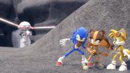 SB S1E26 Sonic Sticks Tails take cover