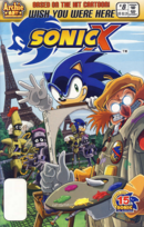 Archie Sonic X Issue 08
