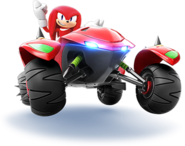 SonicRacing Knuckles