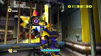 Sonic Adventure 2 (PS3) Prison Lane Mission 4 A Rank