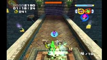 Sonic Heroes Hang Castle (Team Chaotix)