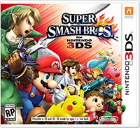 The Boxart for SSB4