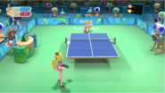 Mario & Sonic at the Rio 2016 Olympic Games - Peach VS Tails Table Tennis