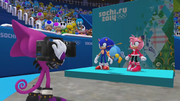 Mario Sonic Sochi Gameplay 372