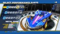 Metal Sonic Legendary Exo-Armor Front