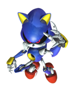 Metal Sonic Rivals 2 art