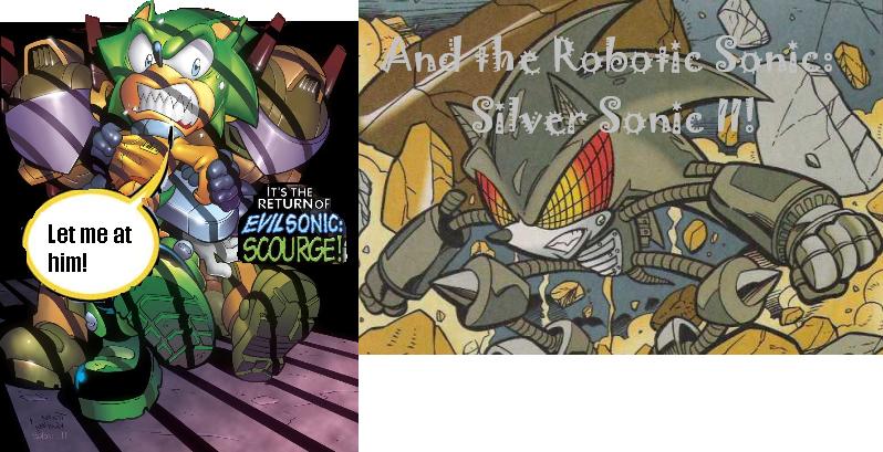 Scourge vs Silver Sonic II