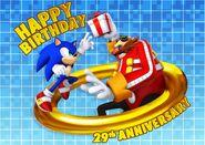 Sonic 29th anniversary